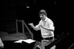 Jonathan Hofmann, künstlerischer Leiter der Jungen Kantorei