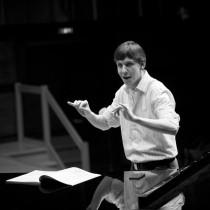 Der neue Chorleiter Jonathan Hofmann